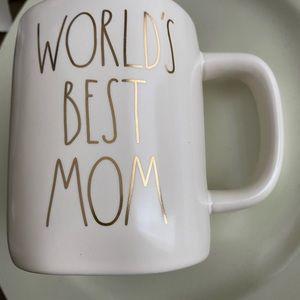 Rae Dunn Worlds Best Mom Mug